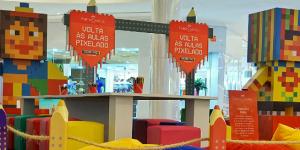 Aliança Comunicação e Cultura realiza ação promo de volta às aulas para Faber-Castell no shopping Riomar Recife