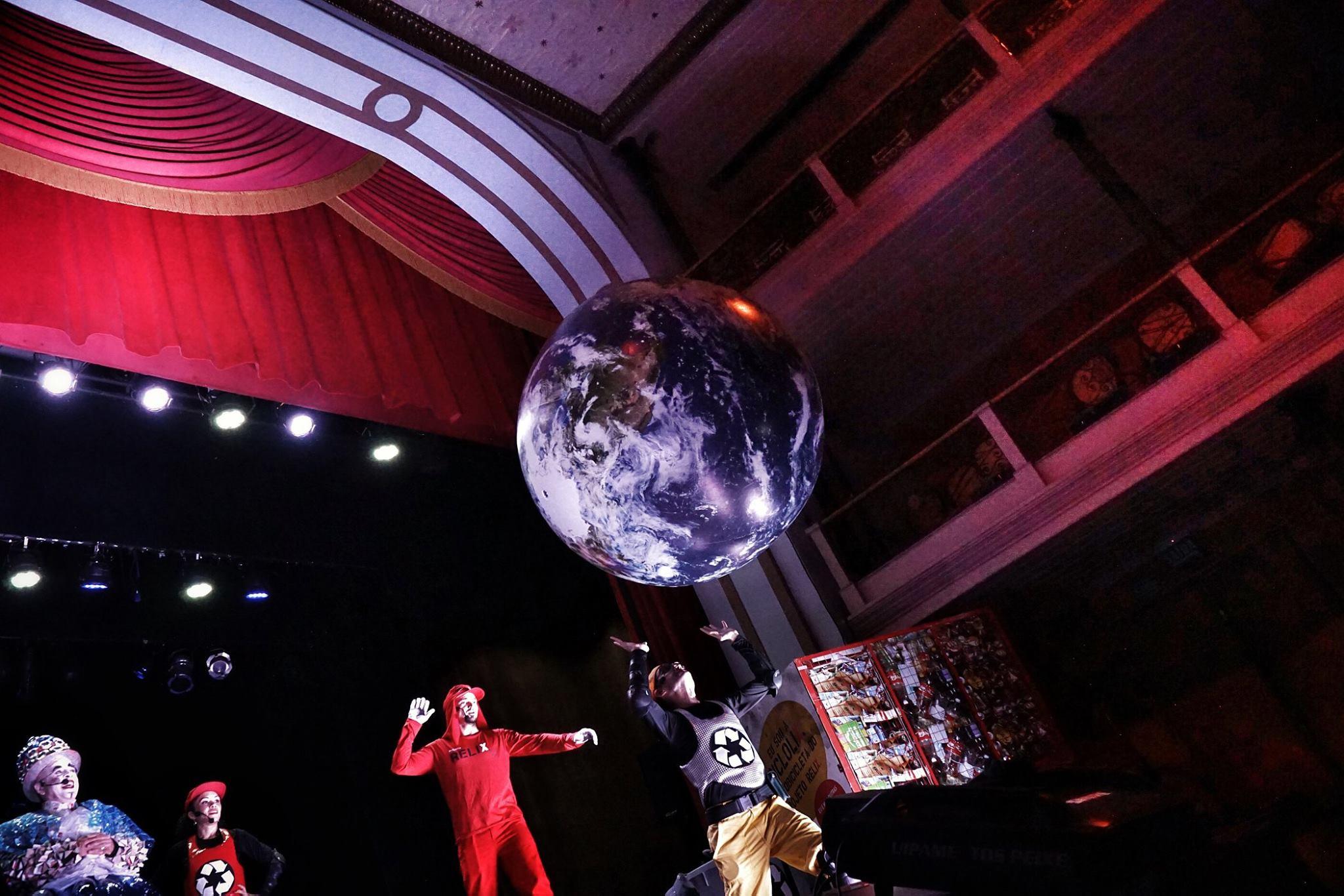 Projeto Relix Alagoas estreia n Teatro Deodoro