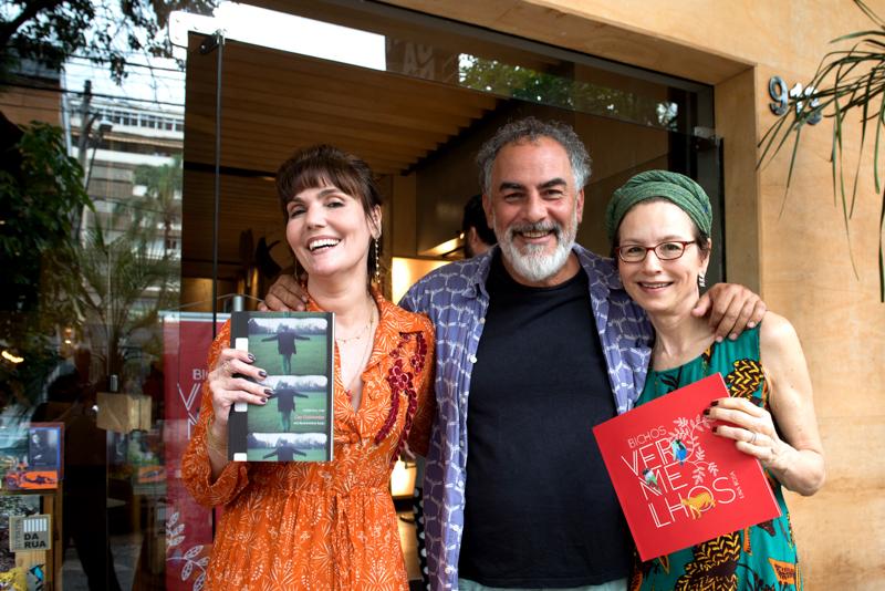 Com Cau Guimarães e Consuelo Lins