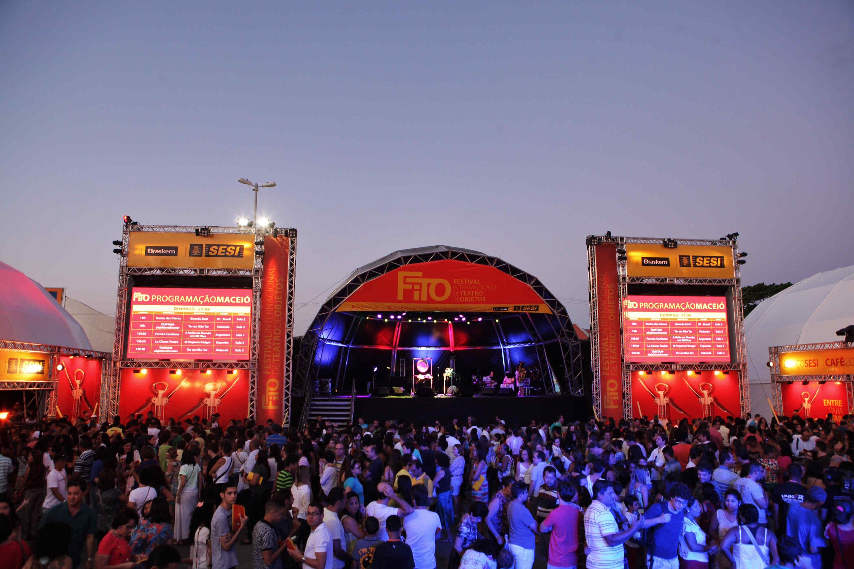 FITO - Festival Internacional de Teatro de Objetos - Aliança Comunicação e Cultura